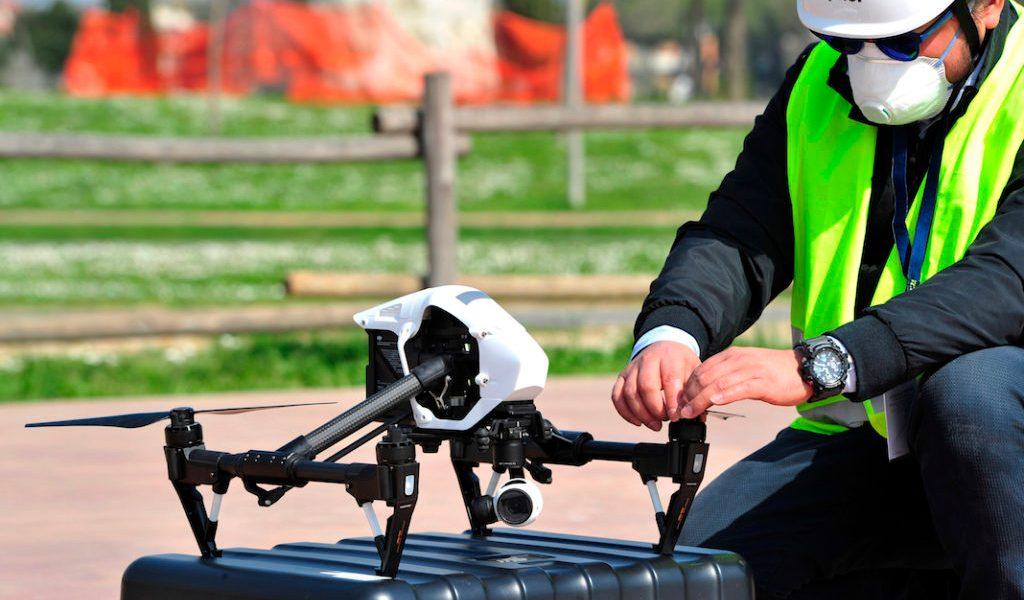 Un dron contra el Covid-19