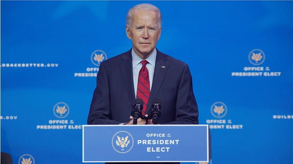 Anuncia Biden homenaje a víctimas de COVID-19 la víspera de su investidura