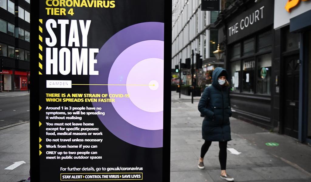 Registra Reino Unido un nuevo récord diario de contagios de COVID-19