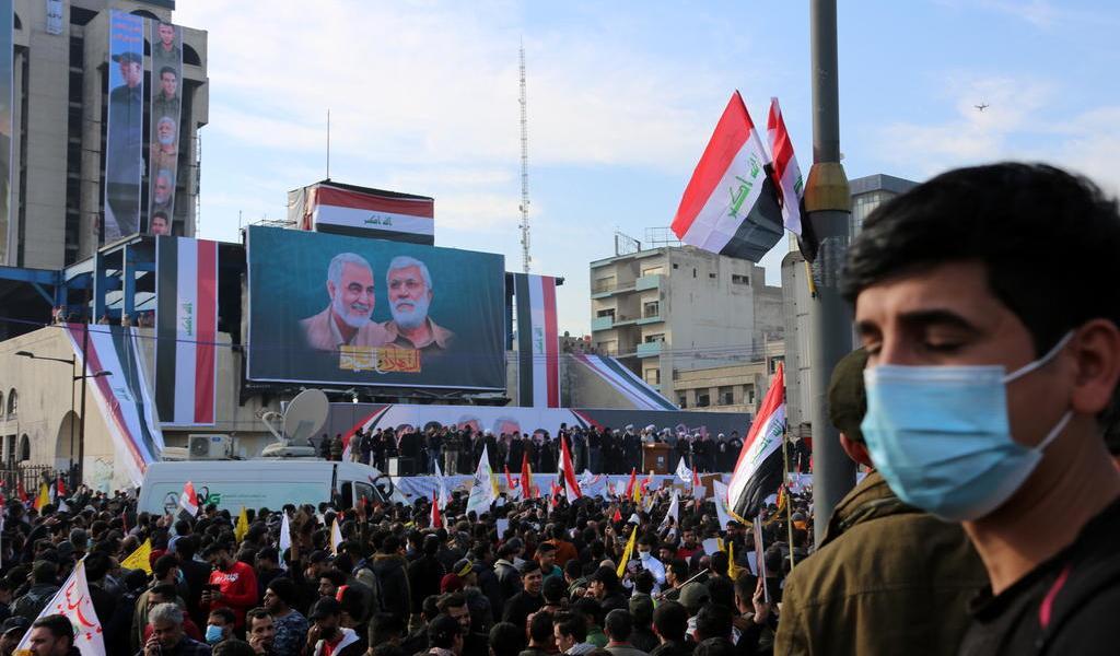 Demandan en Irak la salida de tropas extranjeras