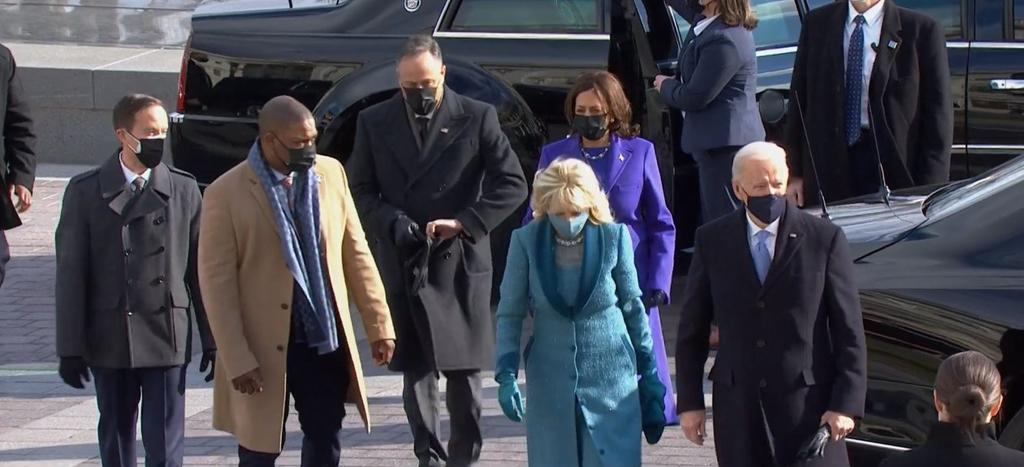 En vivo: Ceremonia de investidura de Joe Biden y Kamala Harris
