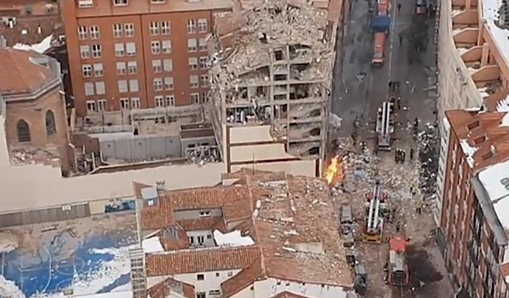 Papa Francisco lamenta explosión de gas en Madrid que ha causado 3 muertes