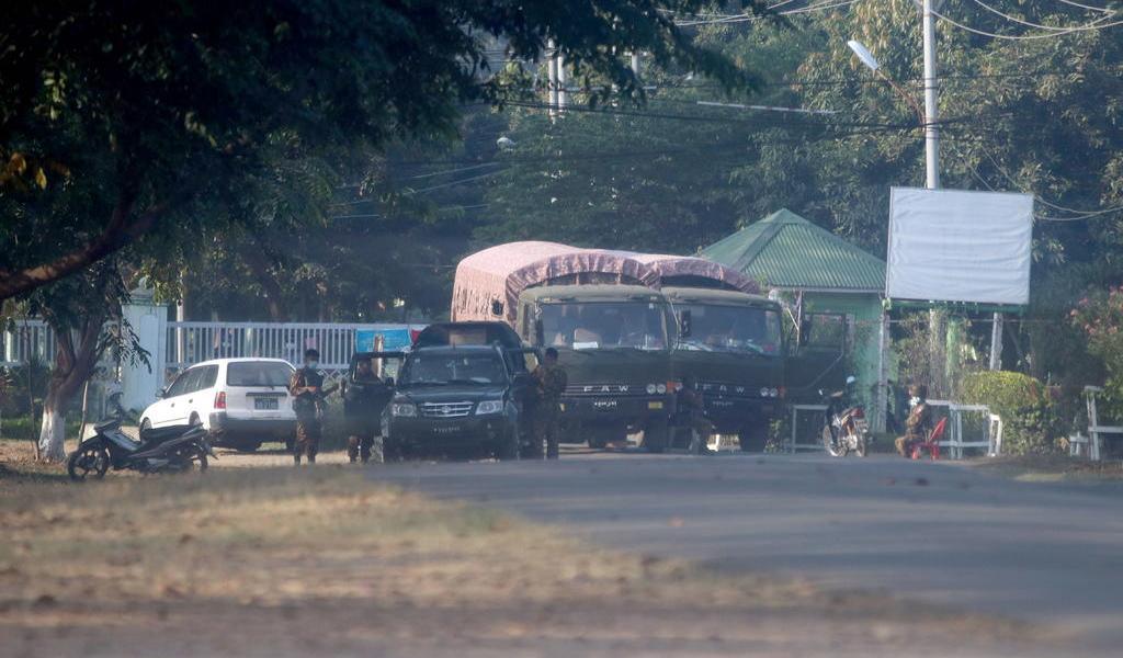Ejército declara estado de emergencia en Myanmar; partido de Suu Kyi pide oponerse al 'golpe'