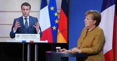 Macron y Merkel urgen a subir producción europea de vacunas contra COVID-19