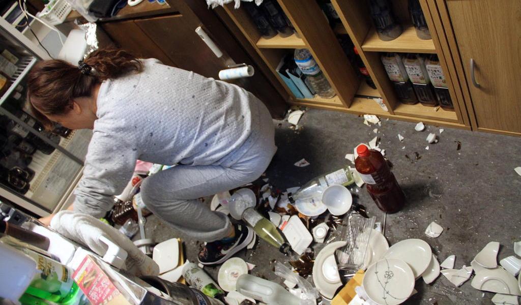 Ajustan a 7.3 magnitud de sismo en Japón