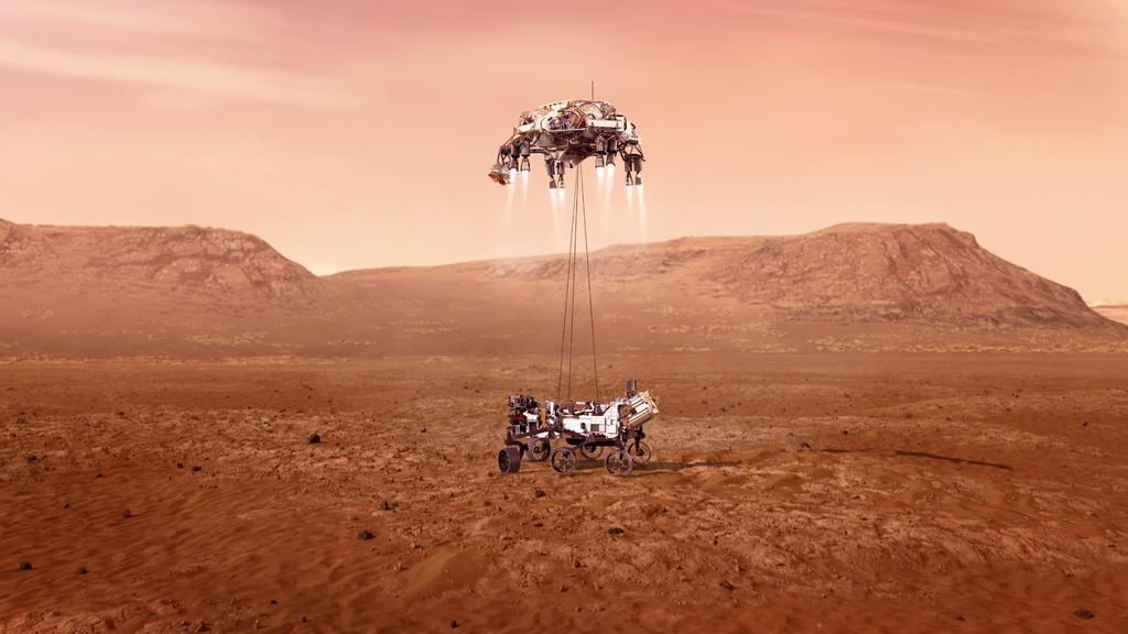 Perseverance, a horas de alcanzar Marte