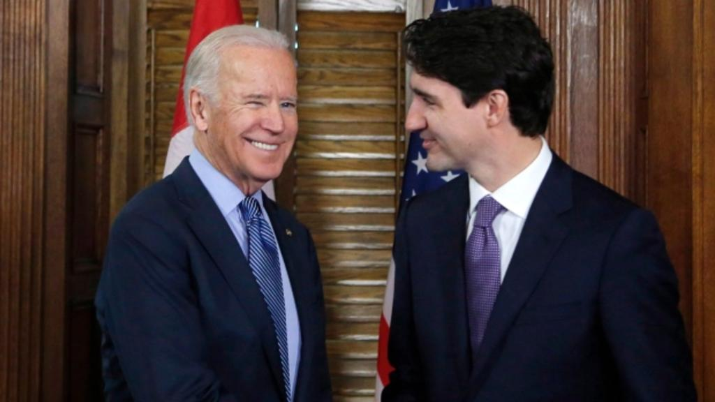 Trudeau y Biden tratarán la lucha en contra del COVID-19