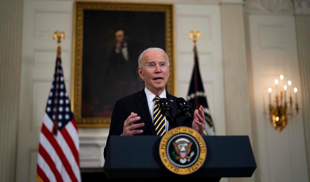 Republicanos se oponen en bloque al plan económico de Biden