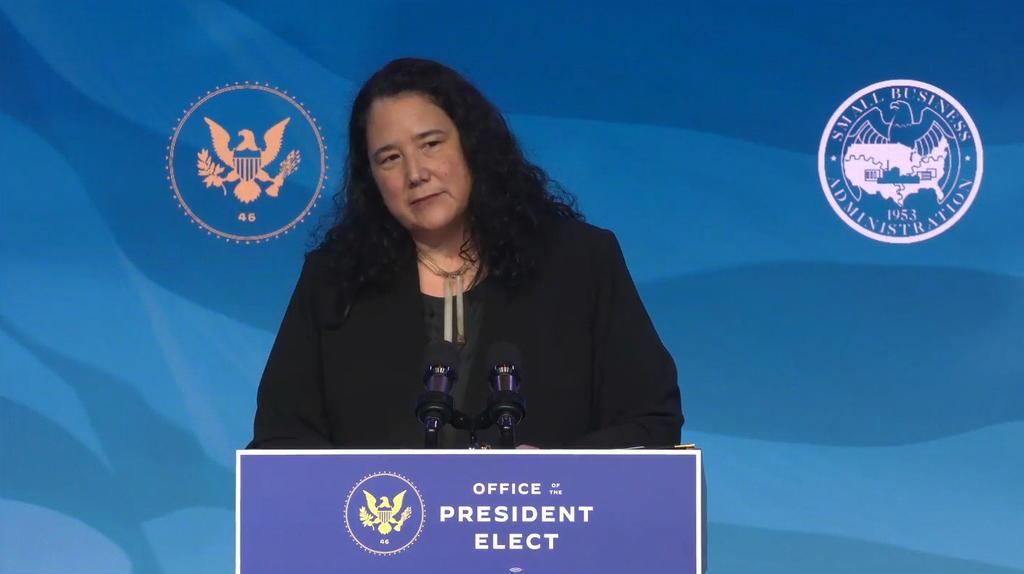 Isabel Guzmán, la única mujer latina del gabinete de Joe Biden