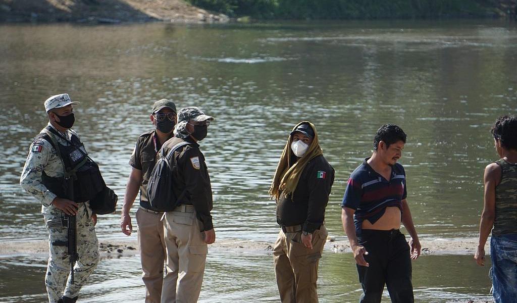 Férreo control de frontera sur de México inhibe flujo de migrantes