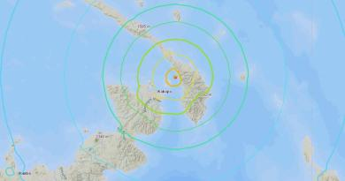 Sismo de magnitud 6 sacude la costa del norte de Papúa Nueva Guinea