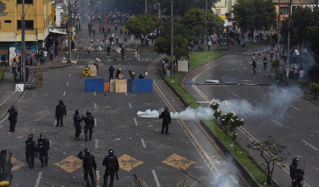 Condena OEA uso desproporcionado de la fuerza pública en Colombia