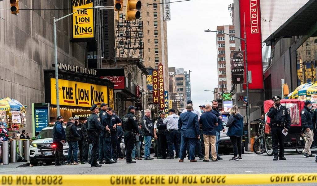 Revelan identidad de sospechoso del tiroteo en Times Square