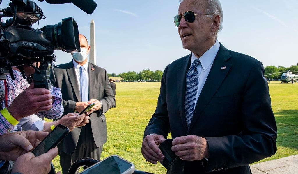 Presentará Biden presupuesto de 6 bdd para EUA en 2022