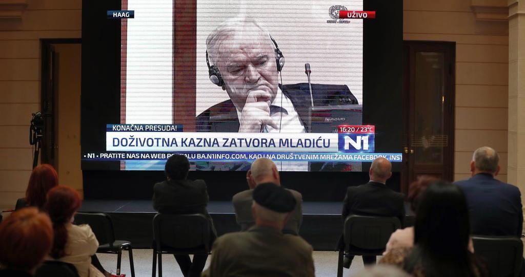 Celebra Croacia condena a Ratko Mladic; agrega que se queda corta