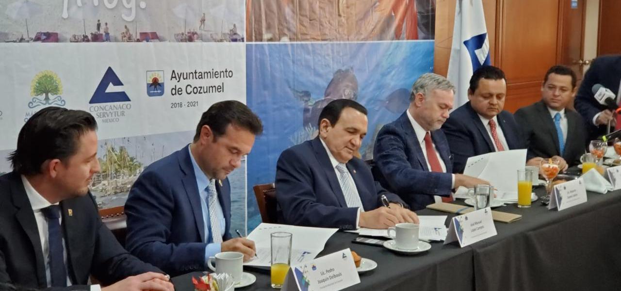 Impulsa Pedro Joaquín la promoción turística de Cozumel