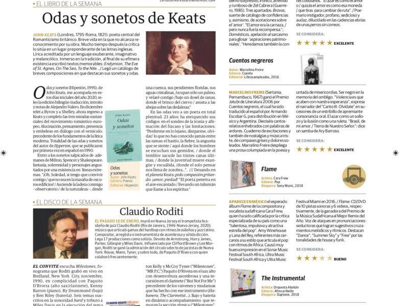 Odas y sonetos de Keats