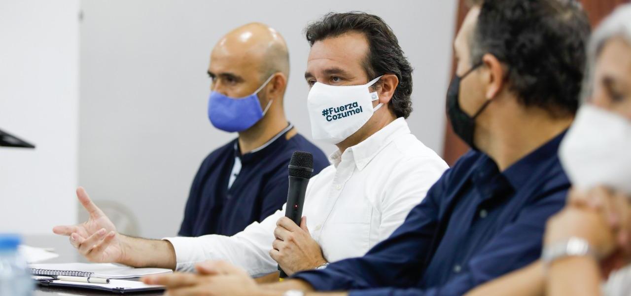 Con el respaldo del Comité Ciudadano de Seguimiento al Derecho de Saneamiento Ambiental, refrenda Pedro Joaquín su compromiso con la gente de Cozumel al destinar recursos para el desarrollo sustentable, social y económico de la isla