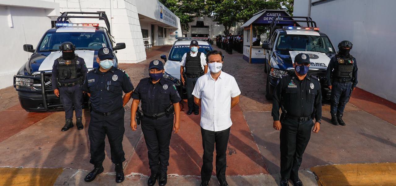 Unidas todas las fuerzas del orden y de la paz, trabajamos por nuestra comunidad en Cozumel: Pedro Joaquín Delbouis