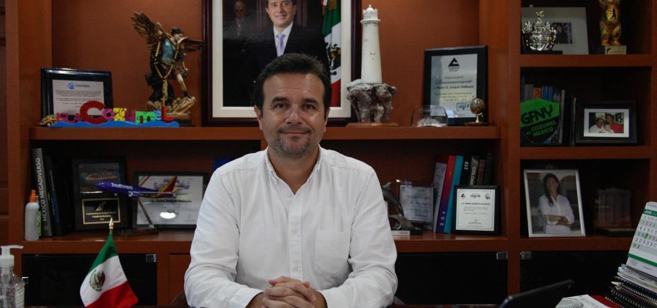 Mantiene Cozumel reinicio de actividades de acuerdo a su Plan Estratégico de Reactivación Económica y Turística: Pedro Joaquín