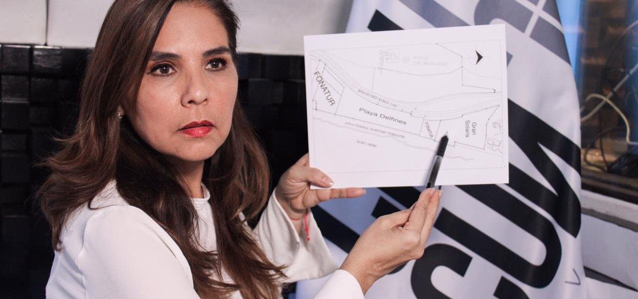"""FRENA MARA LEZAMA CONSTRUCCIÓN DE SOLARIS: """"ES MI COMPROMISO CON LOS CANCUNENSES"""""""
