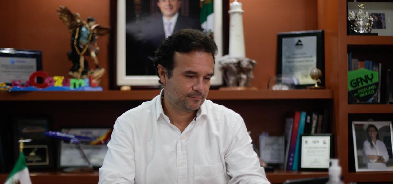 Por un Cozumel seguro para sus habitantes y turistas, anuncia Pedro Joaquín propuesta para sancionar a quienes no acaten los protocolos sanitarios