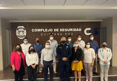 PODER JUDICIAL DE QUINTANA ROO FORTALECE VÍNCULOS INSTITUCIONALES CON LA SSP