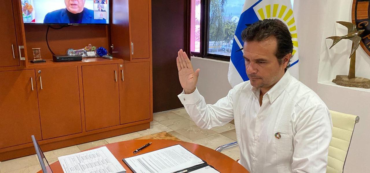 Reactivar el sector turístico acorde a los nuevos tiempos, prioridad de Pedro Joaquín como Presidente de la Asociación Nacional de Municipios Turísticos