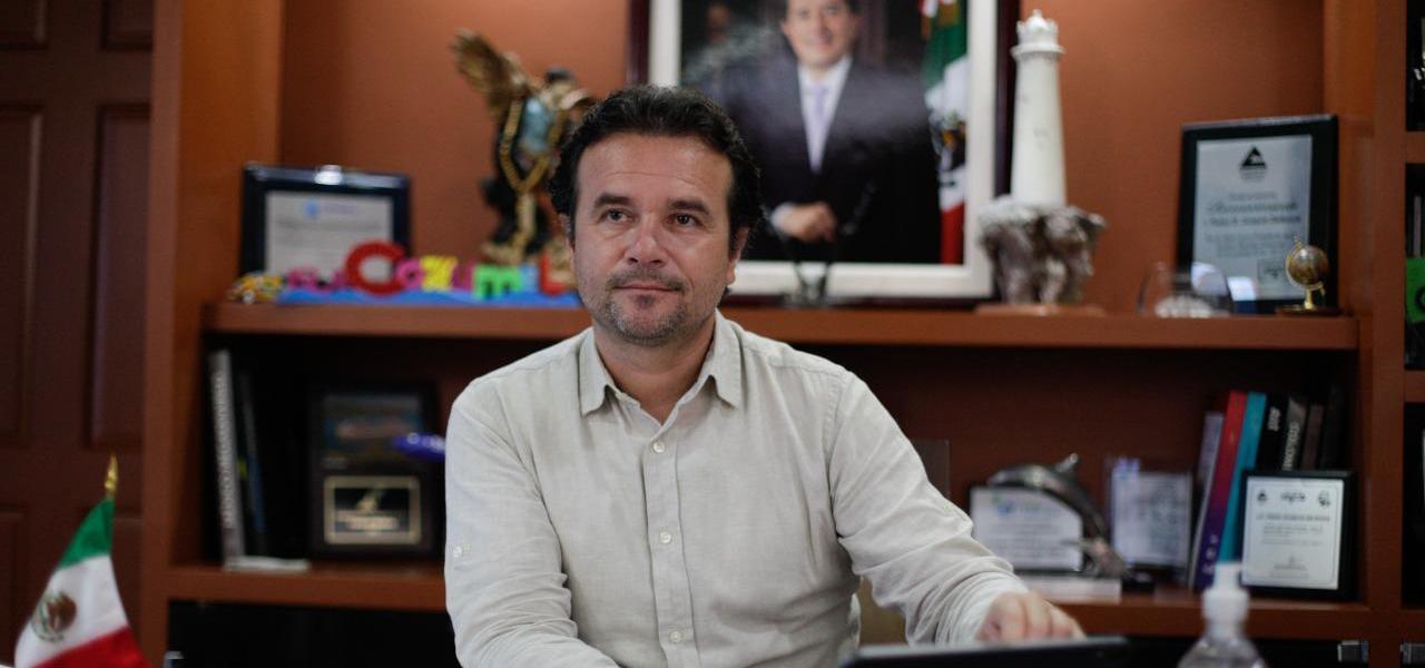 Pide Pedro Joaquín a la población de Cozumel acatar medidas sanitarias y restrictivas de movilidad con mayor rigurosidad