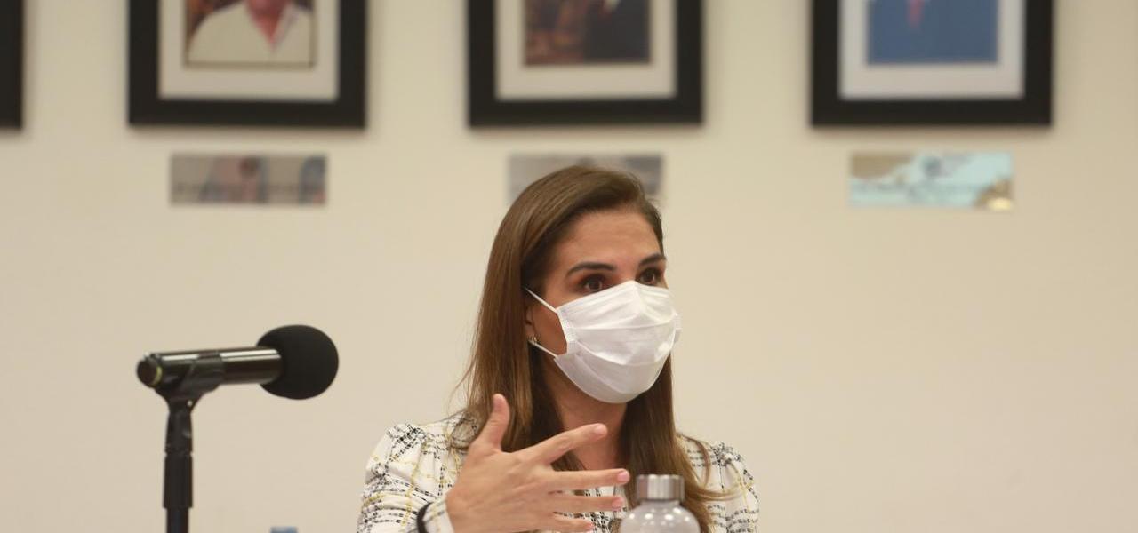 UNIDAD Y SOLIDARIDAD PARA SACAR ADELANTE A CANCÚN: MARA LEZAMA