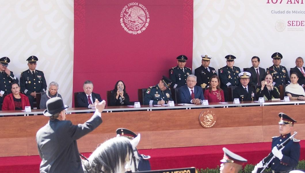 Fuerzas Armadas al Presidente: nuestro objetivo es la transformación