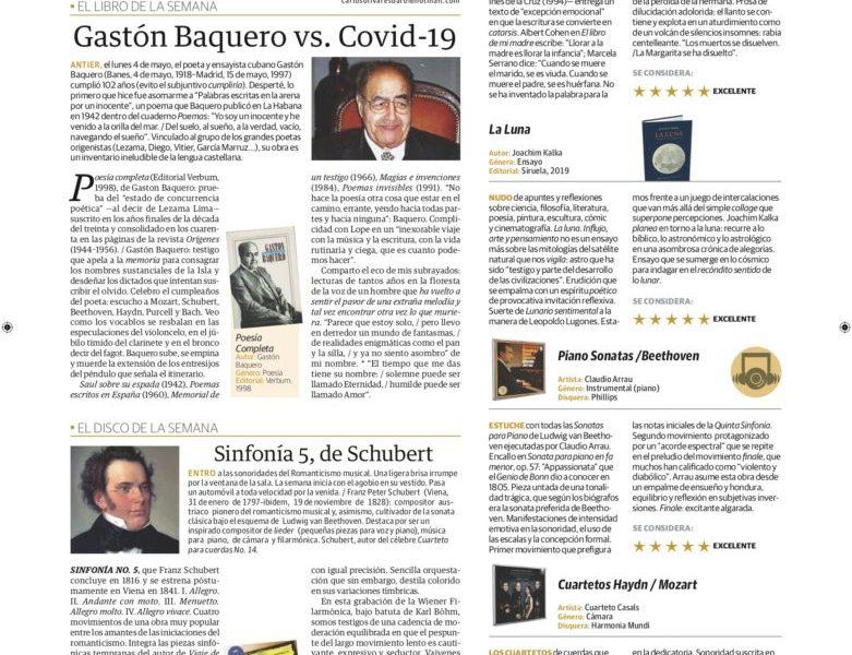 Gastón Baquero vs. Covid-19