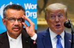 Jefe de la OMS ratifica que sigue al frente, pese a presión de Trump