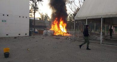 Estalla coche-bomba en Celaya, frente a base de la Guardia Nacional