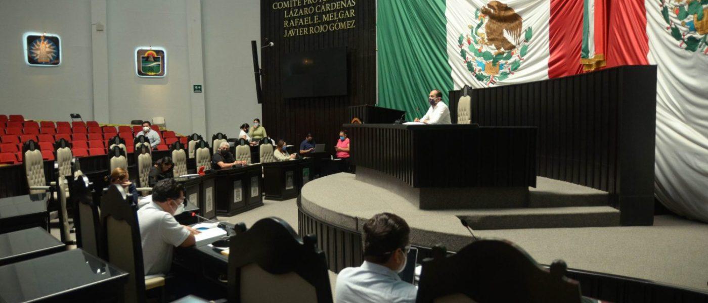 Continúan los trabajos legislativos en el Congreso de Quintana Roo