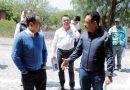 Fayad supervisa con el secretario de Hacienda avance de obras en el Mezquital