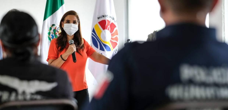 MUNICIPIO DE BENITO JUÁREZ CREA LA POLICÍA DE REACCIÓN COVID