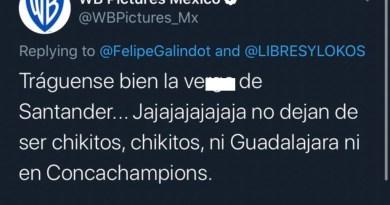 Warner Bros trolea a Tigres en Twitter, 'equipo chico', dicen