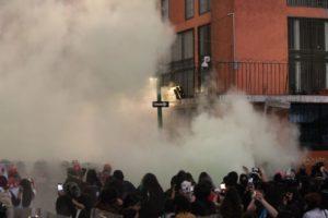"""""""No se usó gas contra manifestantes por feminicidios"""": Sheinbaum"""