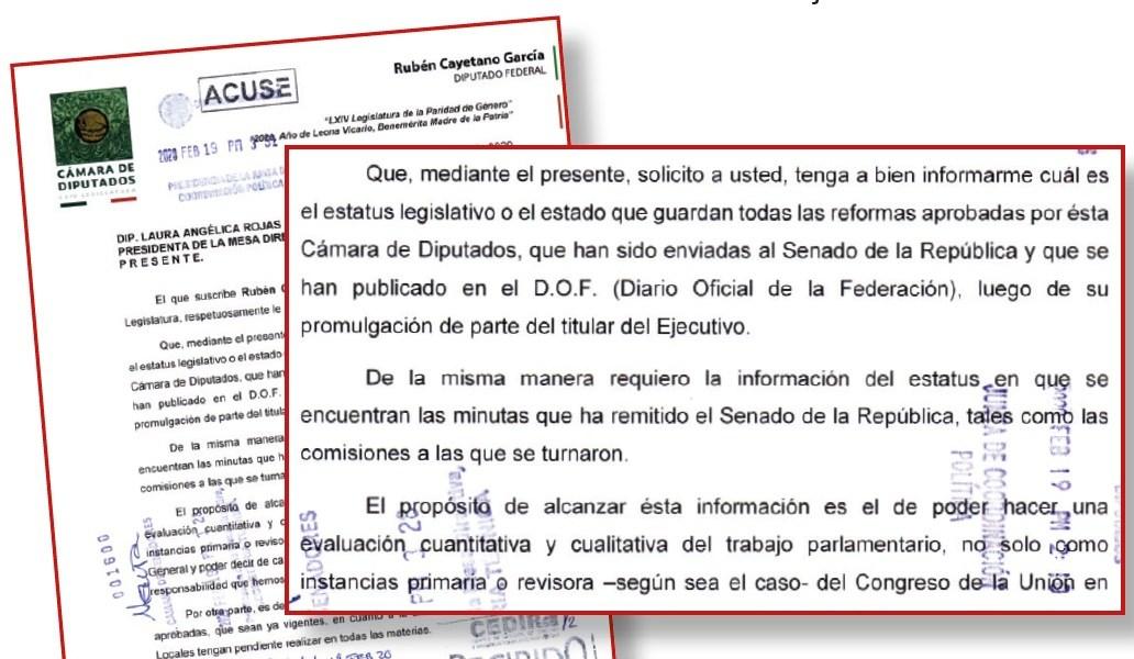 """Crece inconformidad por """"tapón legislativo"""""""