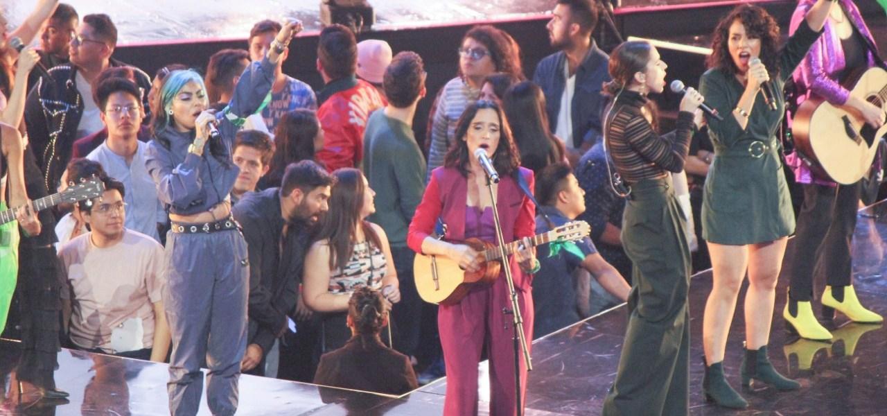 Julieta Venegas canta a la lucha feminista en los Spotify Awards