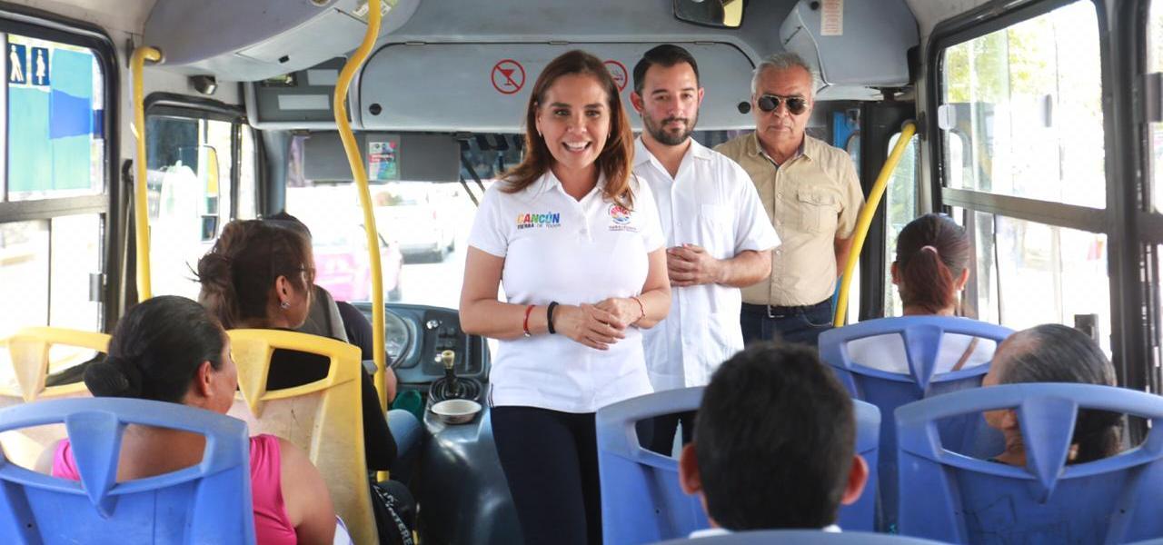 SUPERVISA MARA MEDIDAS PREVENTIVAS EN TRANSPORTE PÚBLICO