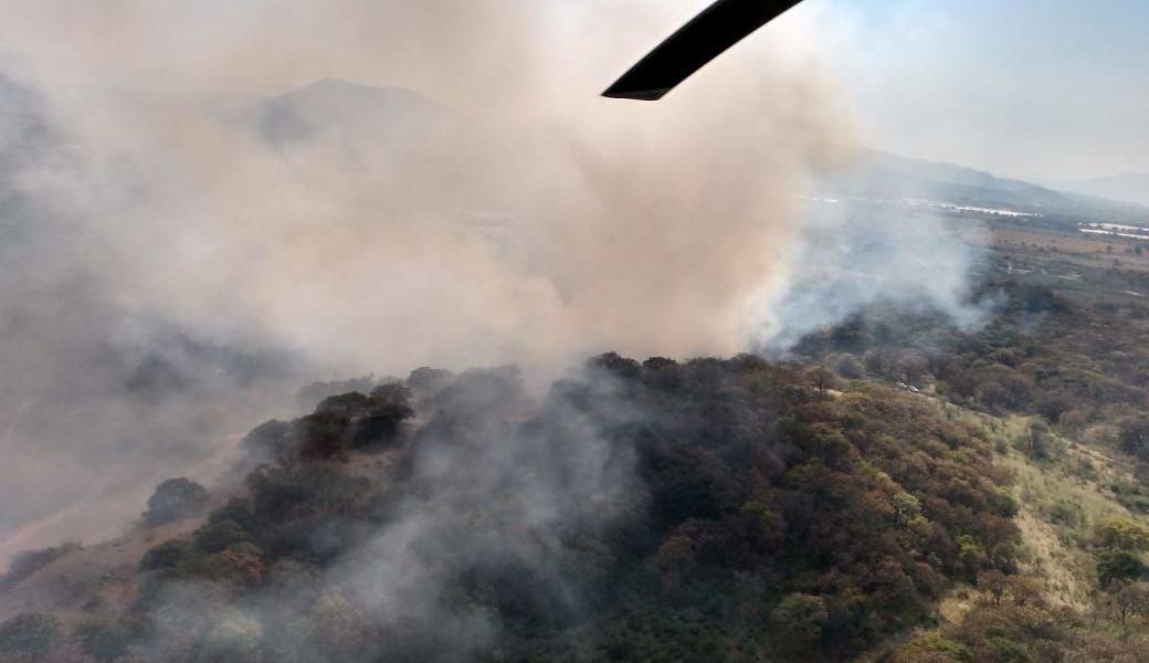 Apagan incendio en el bosque de La Primavera, en Jalisco
