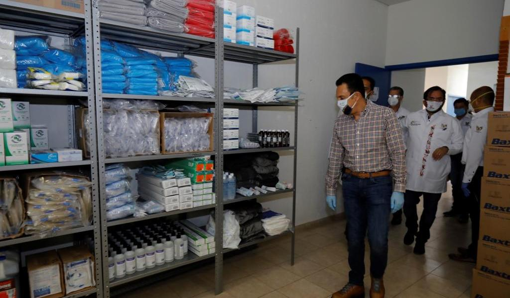 Activa Hidalgo 3 hospitales de respuesta inmediata por COVID-19