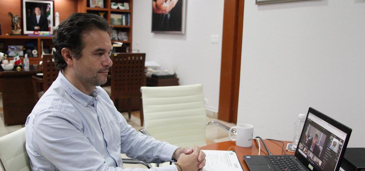 Suma esfuerzos Pedro Joaquín con alcaldes de México y sector empresarial para reactivar los destinos turísticos ante la crisis por Covid-19