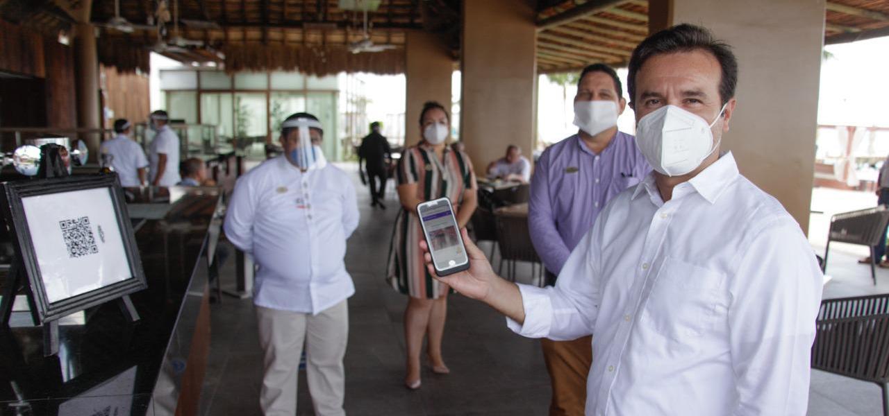 Destaca Pedro Joaquín suma de esfuerzos del sector hotelero para que la reactivación económica y turística de Cozumel sea segura