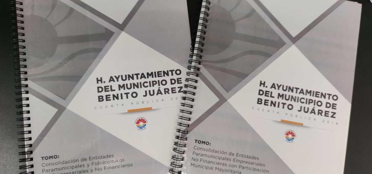 AYUNTAMIENTO DE BENITO JUÁREZ RINDE CUENTAS CLARAS