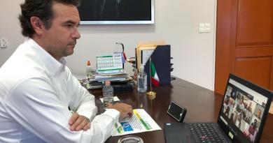 """Ante el acercamiento de la Depresión Tropical """"Catorce"""", mantiene Pedro Joaquín acciones coordinadas con el Estado y la Federación"""