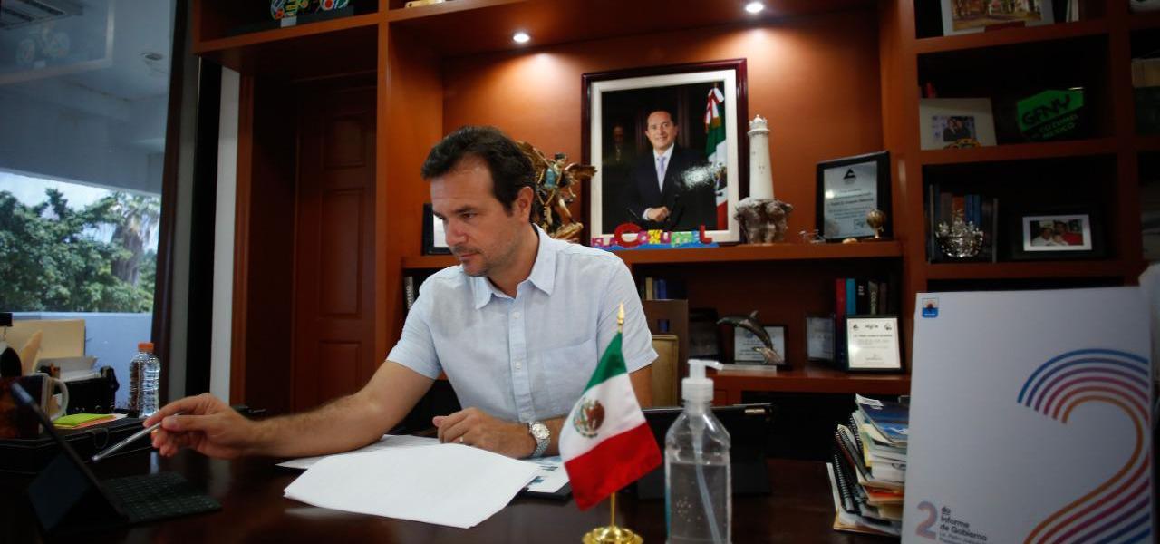 En el segundo año de gobierno, en Cozumel se ha trabajado con visión, determinación y optimismo, para hacer frente a los nuevos y difíciles tiempos: Pedro Joaquín