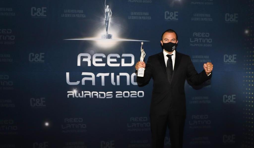 Obtiene QRoo premio en los Reed Latino Awards 2020
